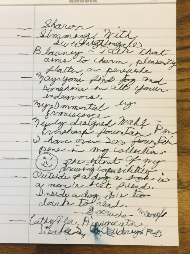 Handwriting Challenge