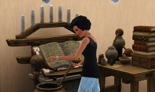 Mathilda Doing Alchemy 1 (Medium)