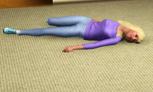 Lenora Passes Out 2