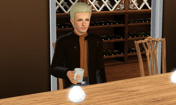 Cian Drinking Coffee 4 (Medium)