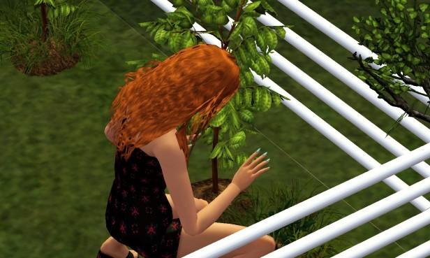 Emily Gardening 2 (Medium)