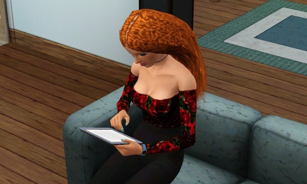 Emily Reading 1 (Medium)